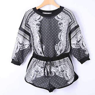 shorts runway jumper jumpsuit cotton romper joggers sweater dress style t-shirt grey blouse black noir dress cute skirt cute dresss