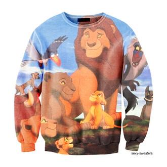 sweater sexy sweater lion king disney disney clothes lion king sweater disney sweater