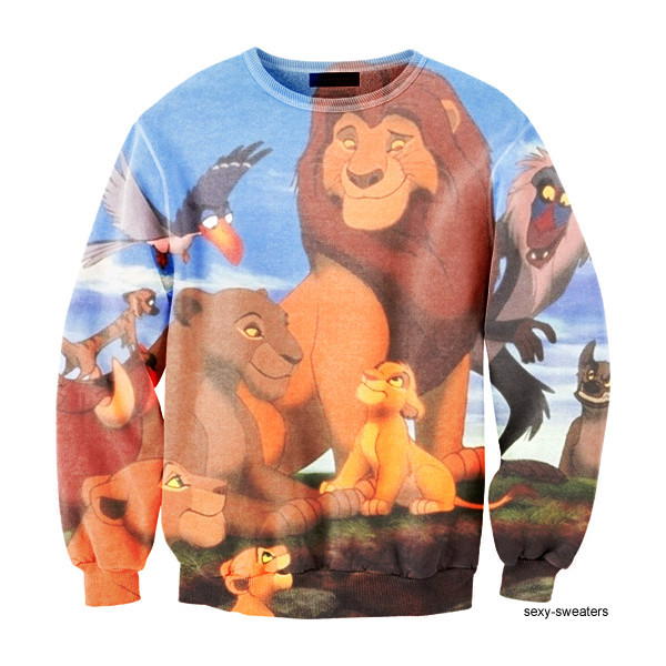 sweater sexy sweater lion king disney disney lion king sweater disney sweater
