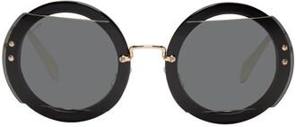 oversized sunglasses round sunglasses gold black black and gold