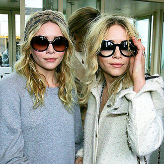 mary kate olsen olsen sisters sunglasses twins chanel fashion model ashley olsen