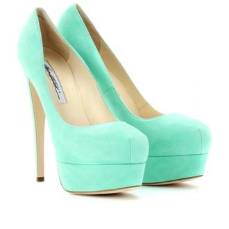 high heels mint heels shoes