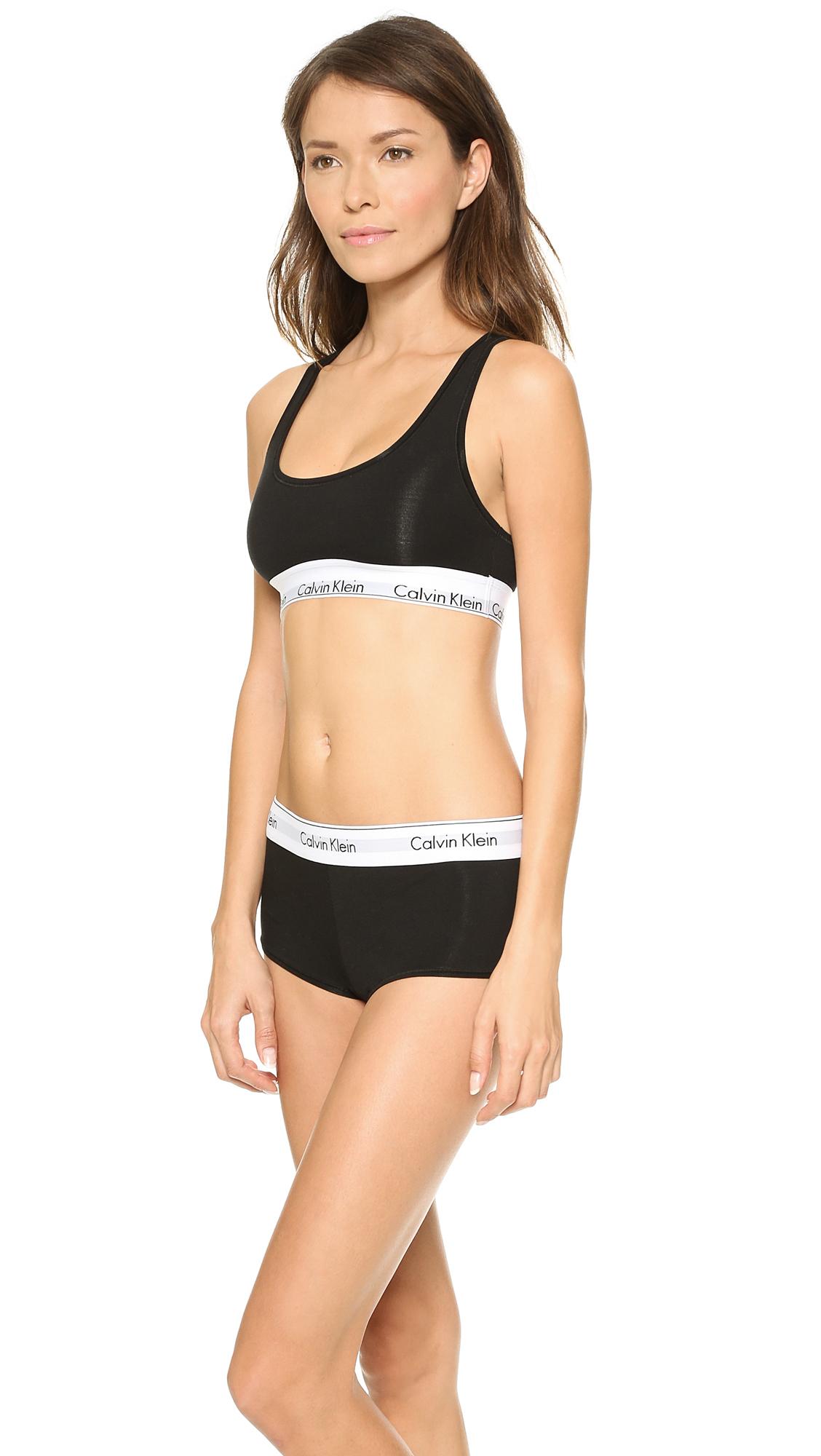 d7b617d568d3b Calvin Klein Underwear Modern Cotton Bralette
