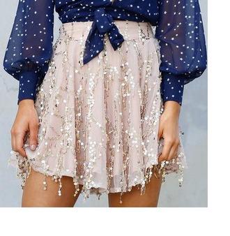 skirt girl girly girly wishlist sequins sparkle