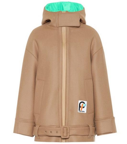 Prada Wool jacket in brown