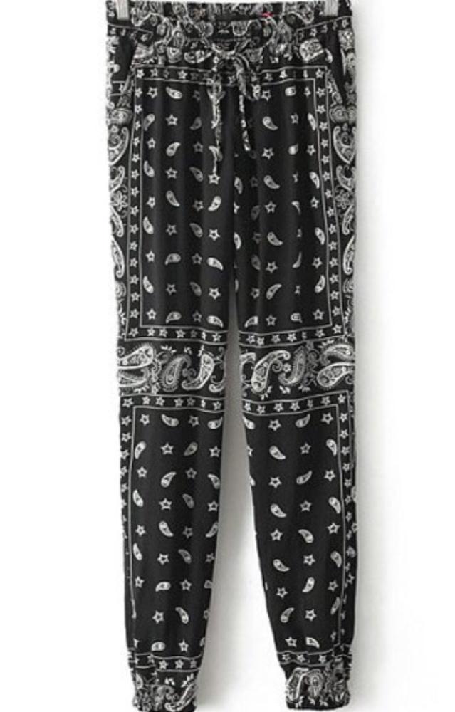 Bandanna trousers