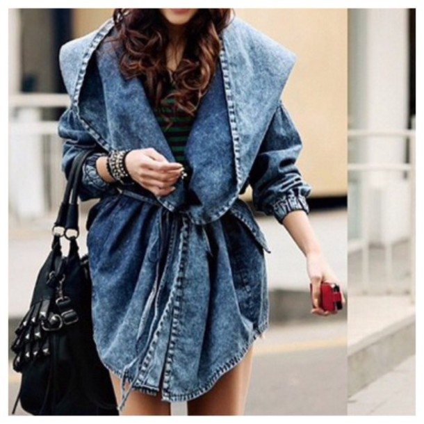 Jacket Denim Jacket Hoodie Coat Cardigan Fall Outfits Fashion