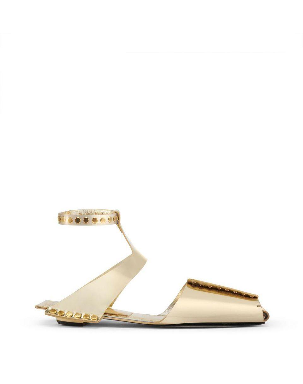 Lanvin Sandals Gold