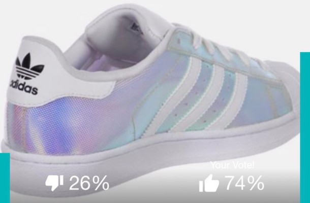 scarpe Wheretoget Ologramma Holographic F6edf Acquista Grunge Adidas Superstars Sneakers BoedCx