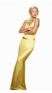 dress,kate hudson,silk dress,gold,gold dress,maxi dress,long prom dress,prom dress,prom,long evening dress,evening dress,sexy evening dresses,formal evening dresses,gold evening dresses\,silk,lace dress,long dress