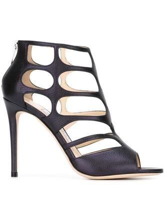 100 sandals blue shoes