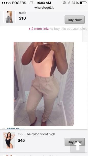 pants tan pants cargo pants