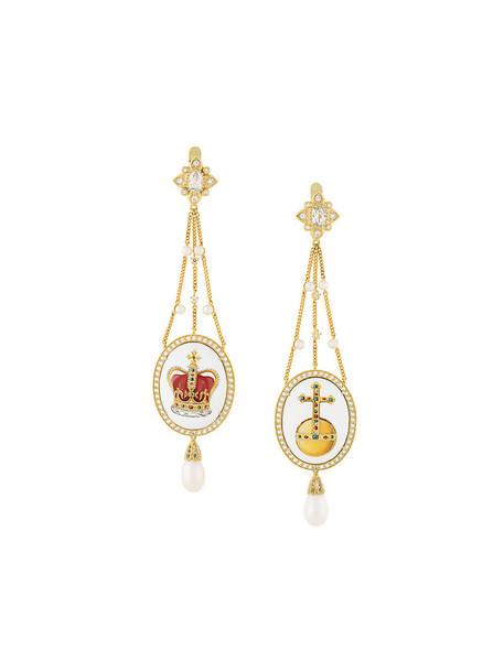Axenoff Jewellery women earrings gold silver grey metallic jewels