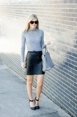 life with emily blogger top skirt jewels jacket shoes