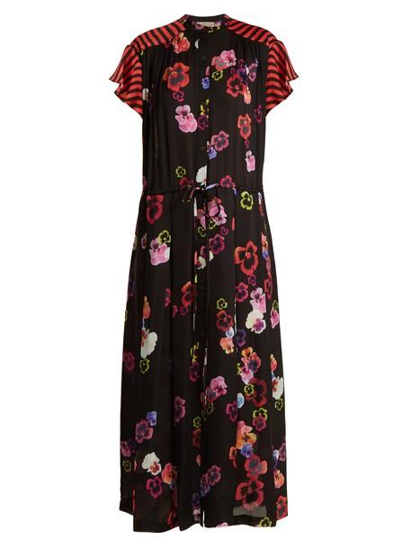 Preen Line dress print black