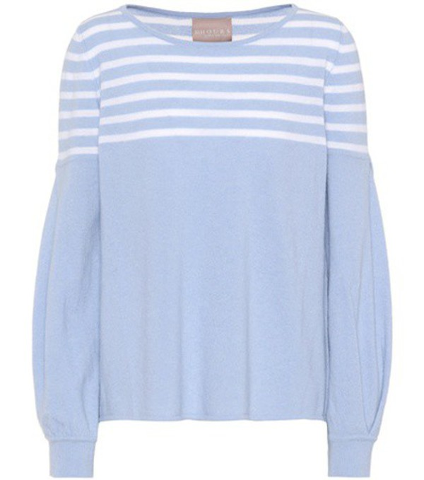 81hours Inga wool and cashmere sweater in blue