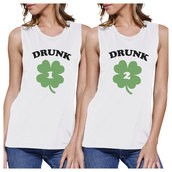 top,funny muscle top,graphic muscle tops,couple muscle top,white top,white muscle tee,custom muscle top,cute muscle tops,gift ideas,bff muscle tops,saint patricks day