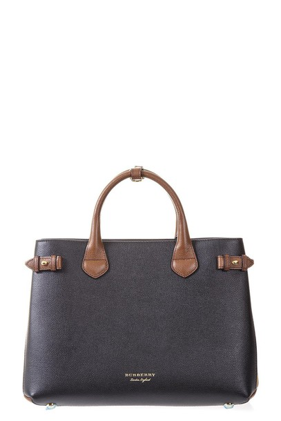 Burberry bag leather black