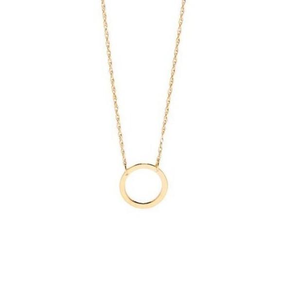 jewels necklace karma gold dainty