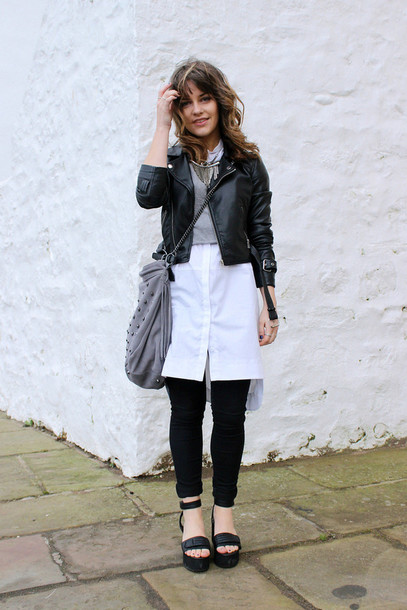the little magpie jacket shirt sweater jeans bag