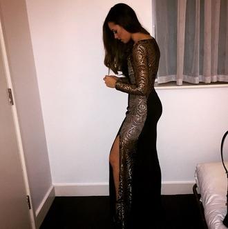dress female gold black silver golddress black dress silverdress fashion prom prom dress desperate!!!