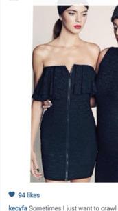 dress,black,zip