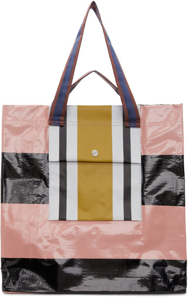 Acne Studios black pink bag