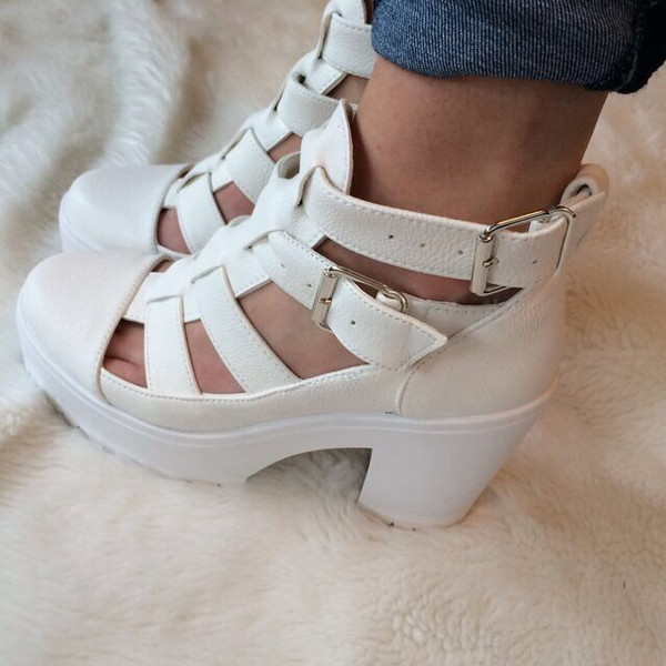 shoes heels heels platform