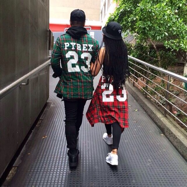 shirt checkered coat top red green pyrex23 jacket instagram user pyrex shabrinemaghnie pyrex 23 top shirt black help please