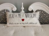 home accessory,white,heart,pillow,style,funny pillow,feather pillow,quote on it pillow,outfit,funny sweater