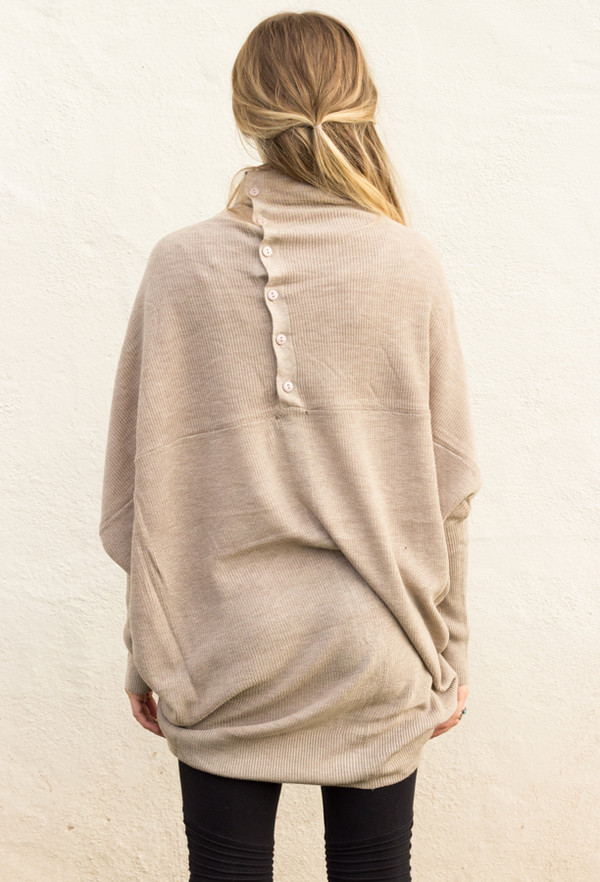 sweater long sleeves slouchy top shirt