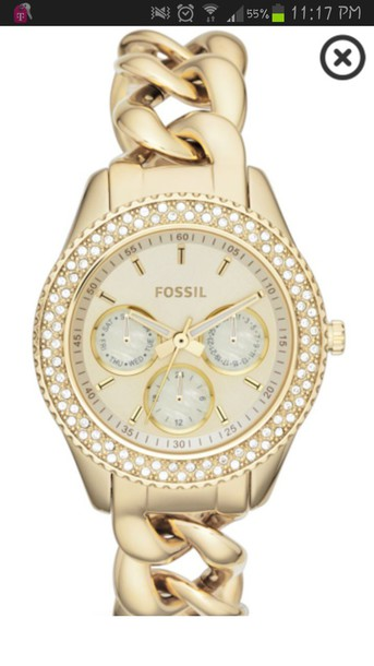 jewels fossil watch