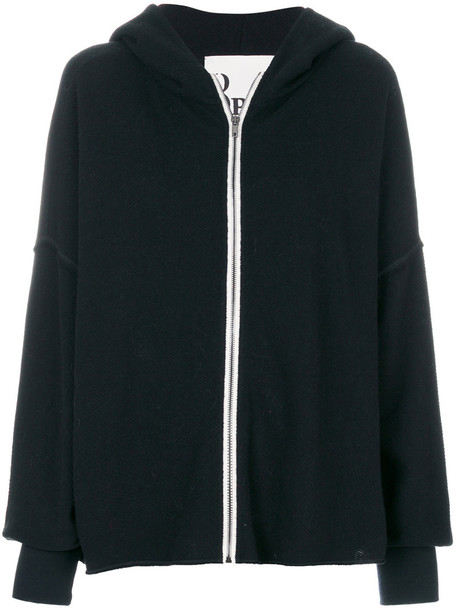 8pm hoodie women cotton black wool sweater