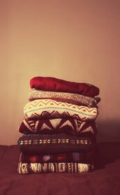 sweater,clothes,winter sweater,knitwear,colorful,pattern,christmas,fall outfits,fall sweater,christmas sweater,aztec,comfy,skinny jeans,seasonal,fluffy,loopy,soft,woolly,red and green,fashion,style,techfit,coat,cozy sweater,cozy,oversized sweater,oversized,boots,outfit,cream #weheartit #woolly #soft,woollen,tumblr,knit,top
