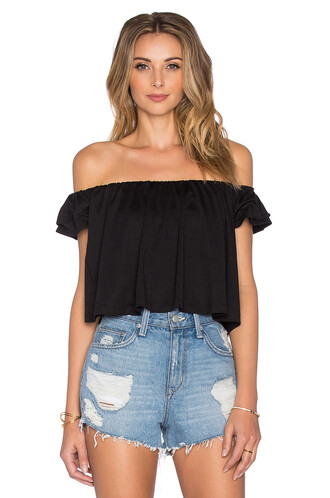 top off the shoulder black