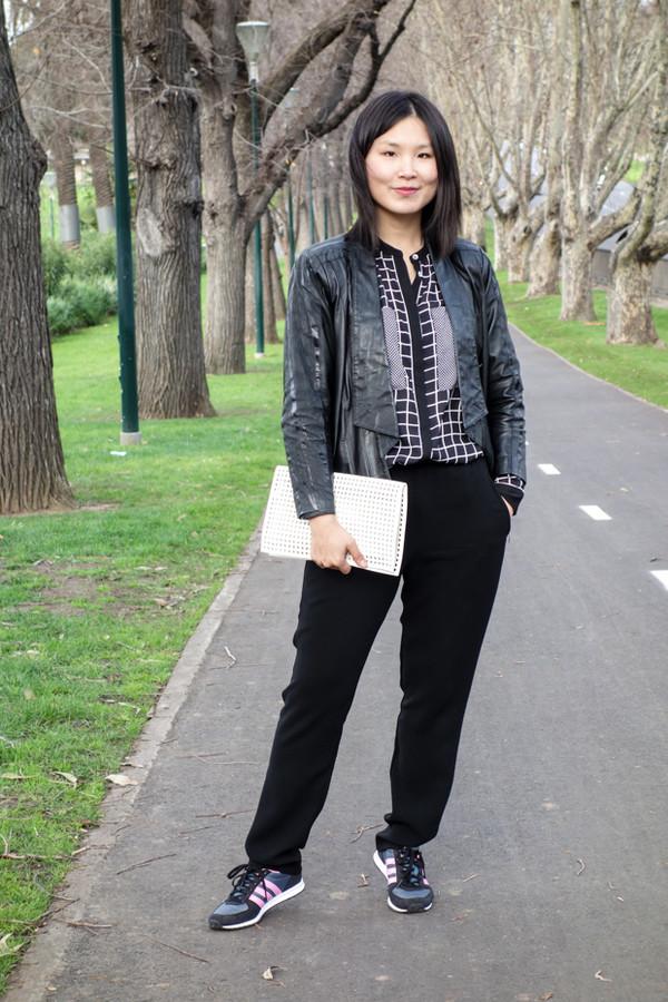 cecylia jacket bag shoes