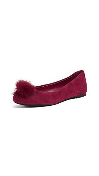 MICHAEL Michael Kors fur ballet flats ballet flats shoes