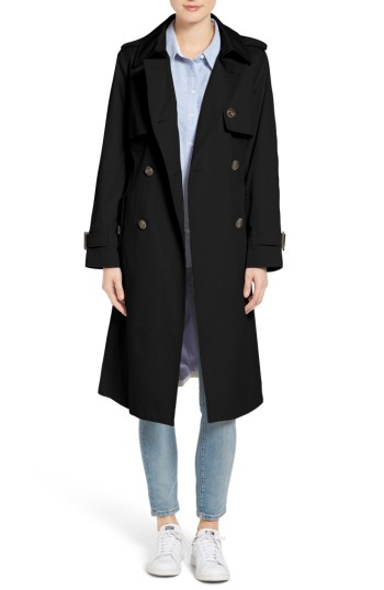 London Fog Double Breasted Trench Coat | Nordstrom