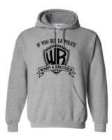 Amazon.com: Stabilitees If You See Da Police Warn a Brother Hip Hop Hoodie, All Colours: Clothing