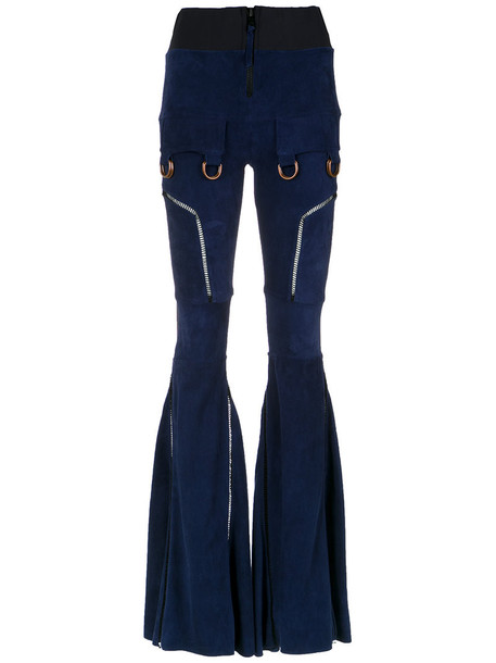 Andrea Bogosian women spandex leather pants