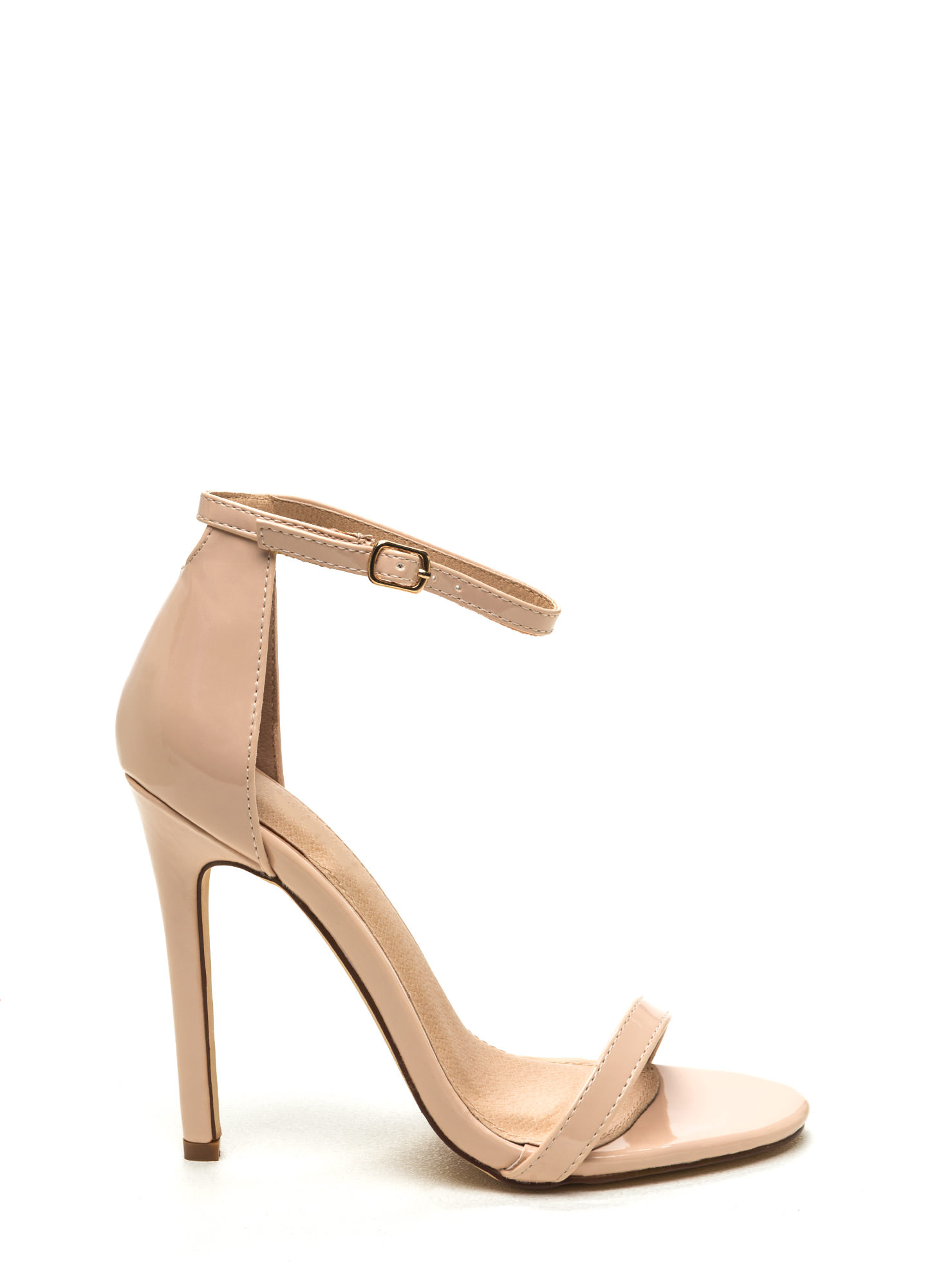 Nude Strapy Heels