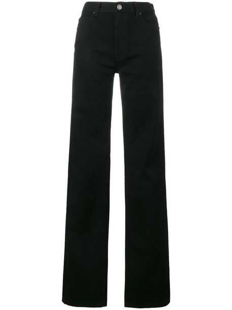 CALVIN KLEIN 205W39NYC jeans high women cotton black
