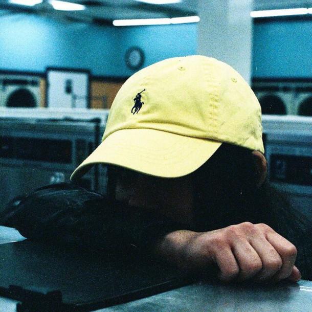 hat hat yellow colorful horse ralph lauren ralph lauren polo da27f278bfe