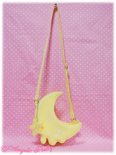 Melty moon shoulder bag in yellow from angelic pretty