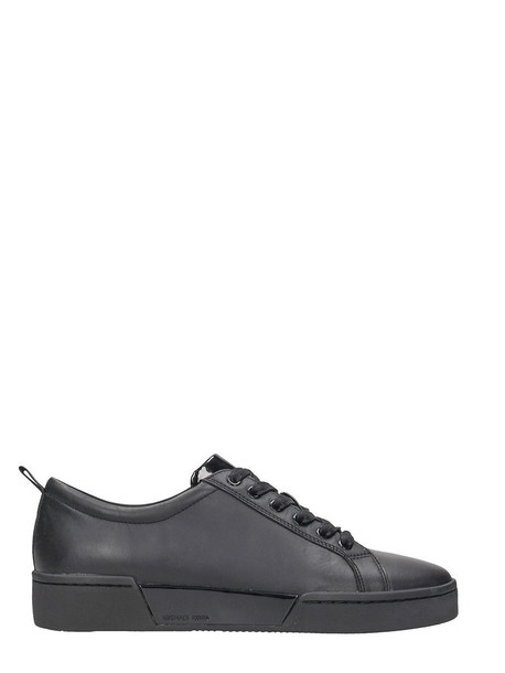 Michael Kors sneakers leather black black leather shoes