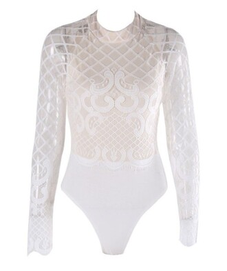 shirt bodysuit white bodysuit