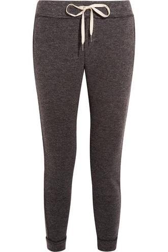 pants track pants knit