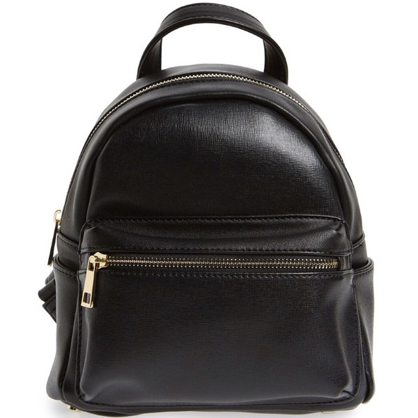 bag black grunge cute trendy punk punk rock leather backpack leather backpack hot summer school bag school girl