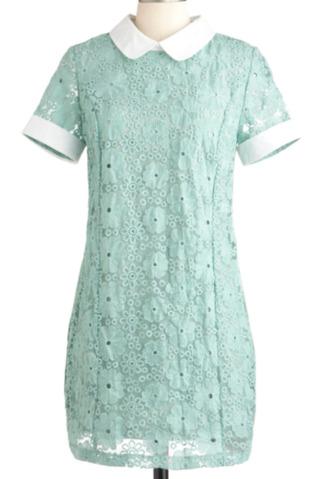dress pastel dress lace dress sage dress white dress floral dress tight fit dress kfashion ulzzang beaded dress pastel green light green mint dress