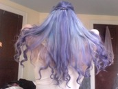 hair accessory,wig,purple,hispter,cool,nice,kawaii,lolita